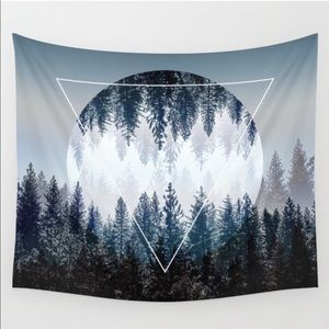 Society6 Tree Triangle Graphic Tapestry